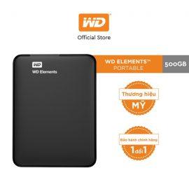 [Mã ELWDSD giảm 8% tối đa 300K] Ổ Cứng WD Elements 500GB-2.5 INCH –