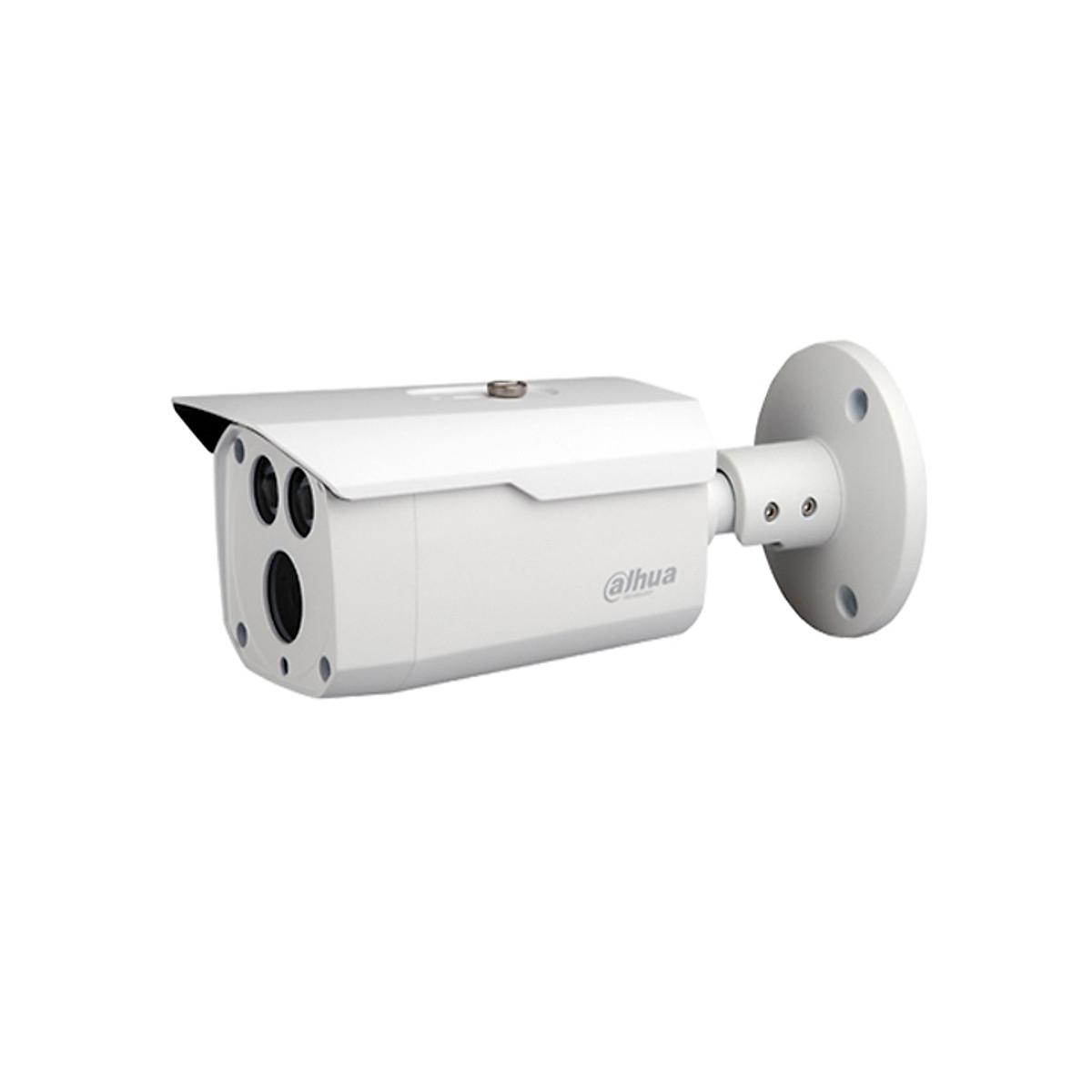 Camera HD-CVI thân trụ 5.0 Mega Pixel hồng ngoại 80m Dahua HAC-HFW1500DP – Hàng nhập khẩu