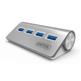 Hub USB 3.0 4 Ports Unitek (Y-3186)  – HÀNG CHÍNH HÃNG