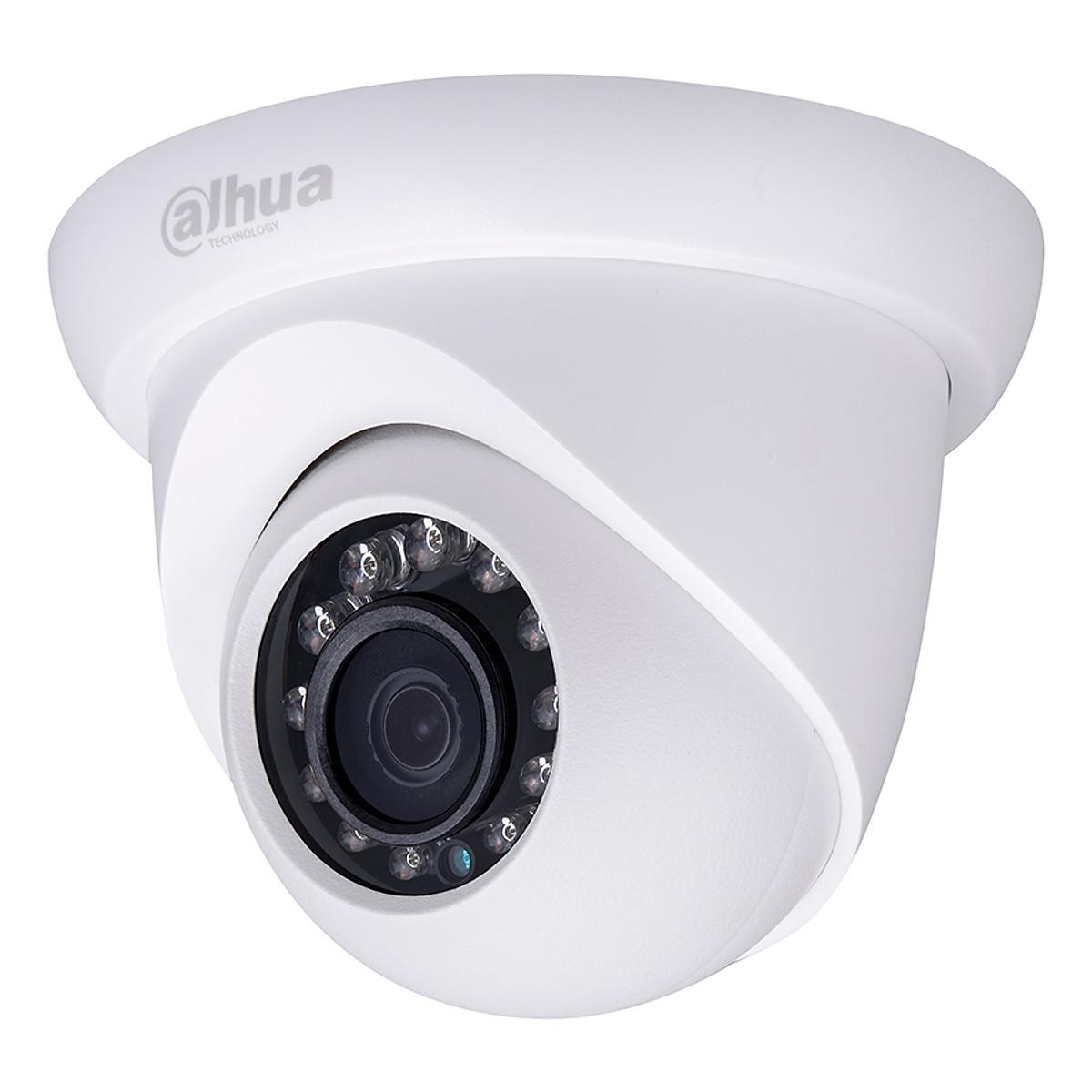 Camera Dahua DS2300Dip 3.0 Megapixel, Micro LED IR 30m, Ống Kính F3.5mm Góc Nhìn 81 Độ, Poe, Onvif – Hàng Nhập Khẩu
