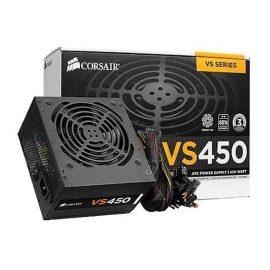 Bộ Nguồn Máy Tính Corsair Gaming VS450 Công Suất Thực  450W – 80 Plus White ( PSU Corsair Builder Series VS450 ) – HÀNG FPT PHÂN PHỐI
