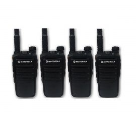 Bộ 4 Bộ đàm Motorola M8 – Hàng chính hãng