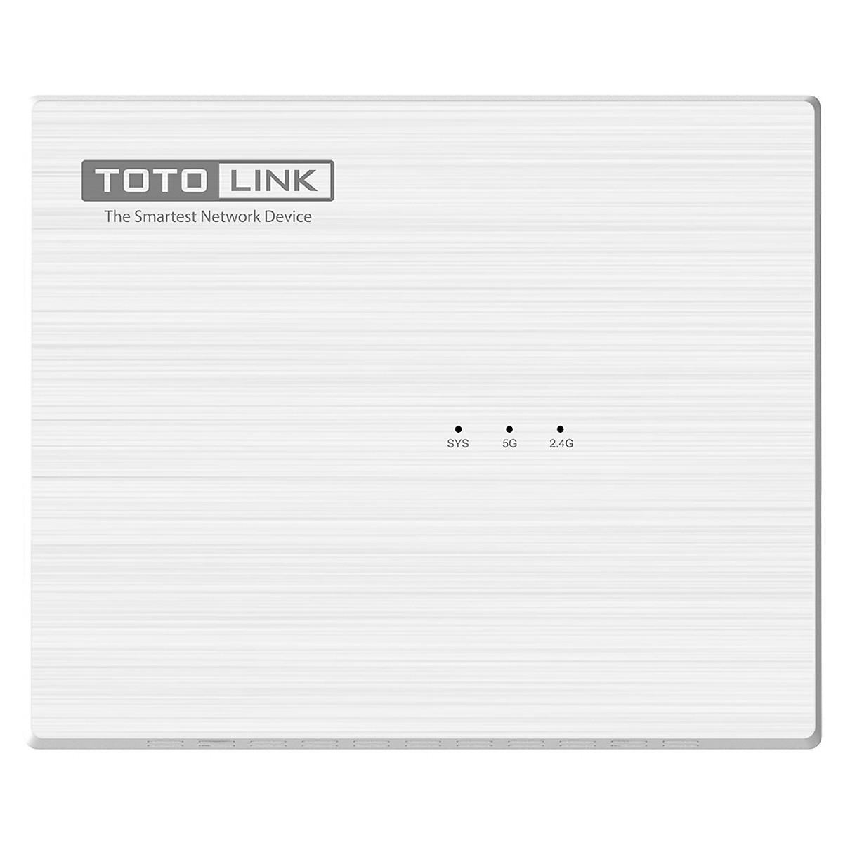 Router Wi-Fi Không Dây Băng Tần Kép AC1200 TOTOLINK A830R – Hãng Phân Phối Chính Thức