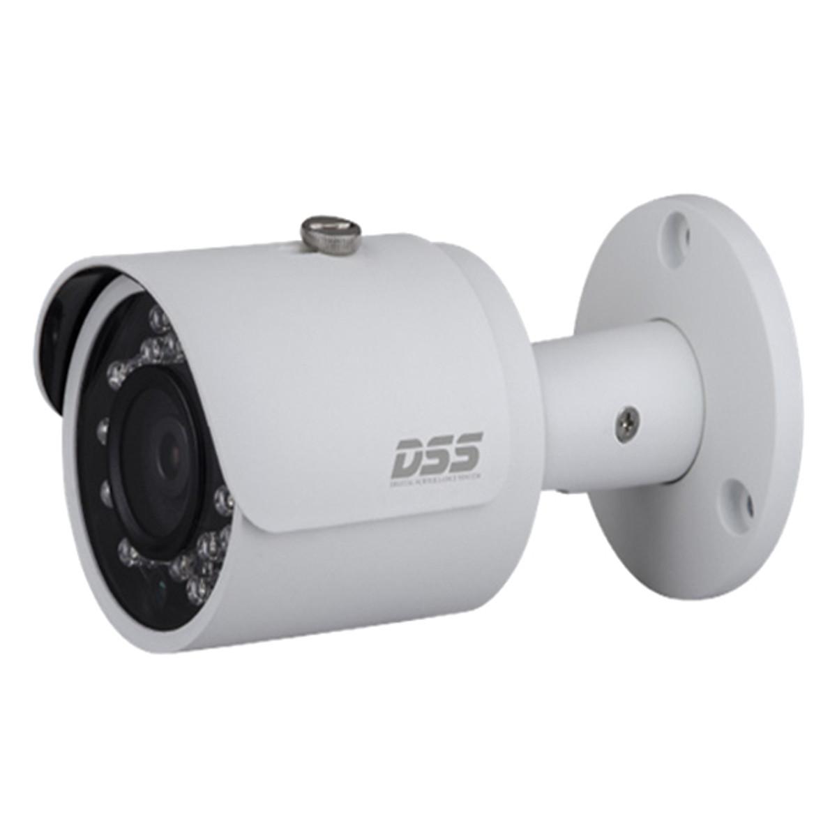 Camera Dahua DS2130FIP 1.0 Megapixel, Micro LED IR 30m, F2.8mm Góc Nhìn 81 Độ, Poe, Onvif – Hàng Nhập Khẩu