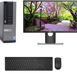 BỘ Máy Tính Đồng Bộ Dell CORE I5-4570/RAM 8GB /SSD 120GB/HDD 500GB và Màn hình Dell 21.5 inch / BÀN PHÍM CHUỘT DELL/BAN DI CHUỘT /USB WIFI – Hàng Nhập Khẩu