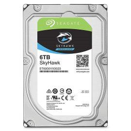 Ổ Cứng HDD Seagate SkyHawk ST6000VX0023 Sata III 6TB/64MB/7200rpm – Hàng Chính Hãng