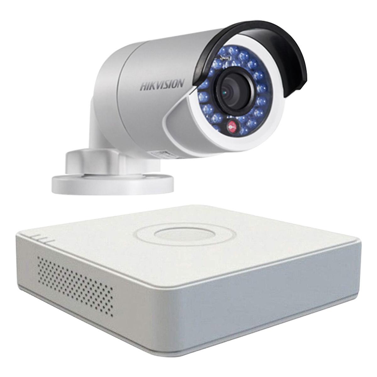 Trọn bộ 1 Camera giám sát HIKVISION TVI 2 Megapixel DS-2CE56D0T-IR chuẩn Full HD – Hàng chính hãng