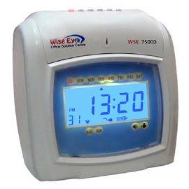 Máy chấm công thẻ giấy WISE EYE 7500D – Hàng nhập khẩu