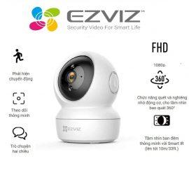 Camera Wifi dòng P/T EZVIZ CS-C6N (A0-1C2WFR) – Hàng chính hãng