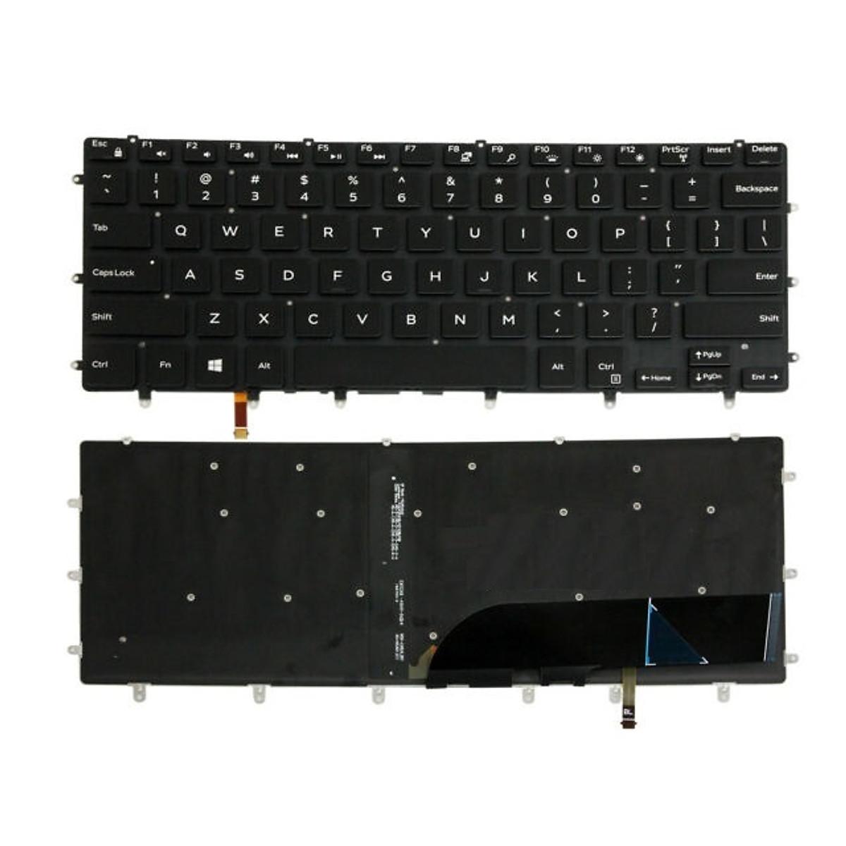 Bàn phím dành cho Laptop Dell Inspiron 7352 có đèn nền