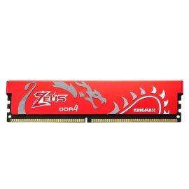 Bộ nhớ DDR4 Kingmax 8GB (2666) ZEUS Dragon Heatsink (Đỏ) – Hàng chính hãng