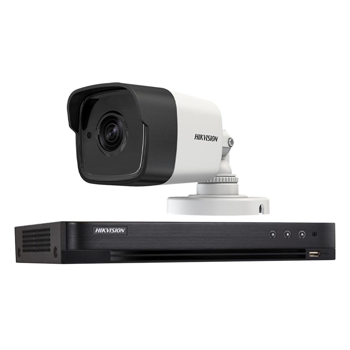 Trọn bộ 1 Camera giám sát HIKVISION TVI 5 Megapixel DS-2CE56H1T-ITM FULL 4K – Hàng chính hãng