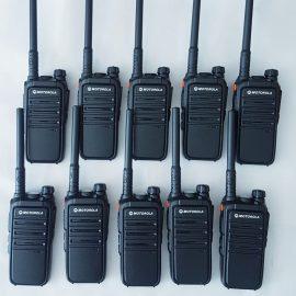 Bộ 10 máy bộ đàm Motorola CP 102 – Hàng Nhập Khẩu