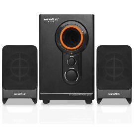 Loa SoundMax A710 (2.1) 20W – Hàng Chính Hãng