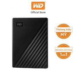 [Mã ELWDSD giảm 8% tối đa 300K] Ổ cứng WD My Passport 2.5 INCH( USB 3.2) 1TB Portable( Đen)-