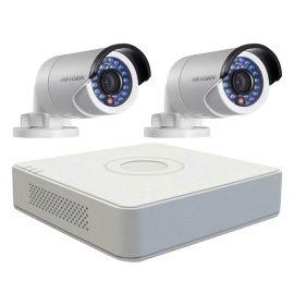 Trọn bộ 2 Camera quan sát HIKVISION TVI 1 Megapixel DS-2CE16C0T-IRP chuẩn 720HD – Hàng chính hãng