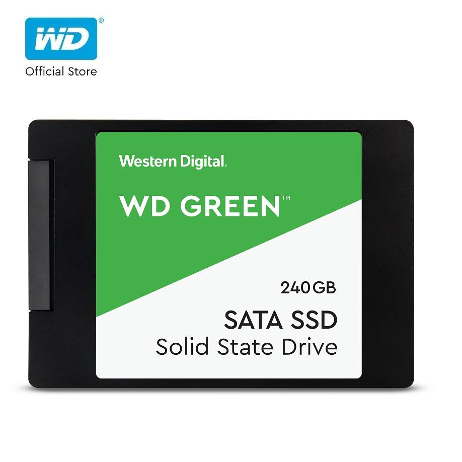 [Mã ELWDSD giảm 8% tối đa 300K] Ổ Cứng SSD WD Green 240GB 3D NAND-WDS240G2G0A