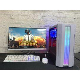 Bộ máy tính MỚI màn 24 inch cong chuyên Game, edit video, đồ họa, văn phòng, học tập,(Sản phẩm trọn bộ đã cài đặt Win, office, cắm điện là dùng)- Hàng nhập khẩu