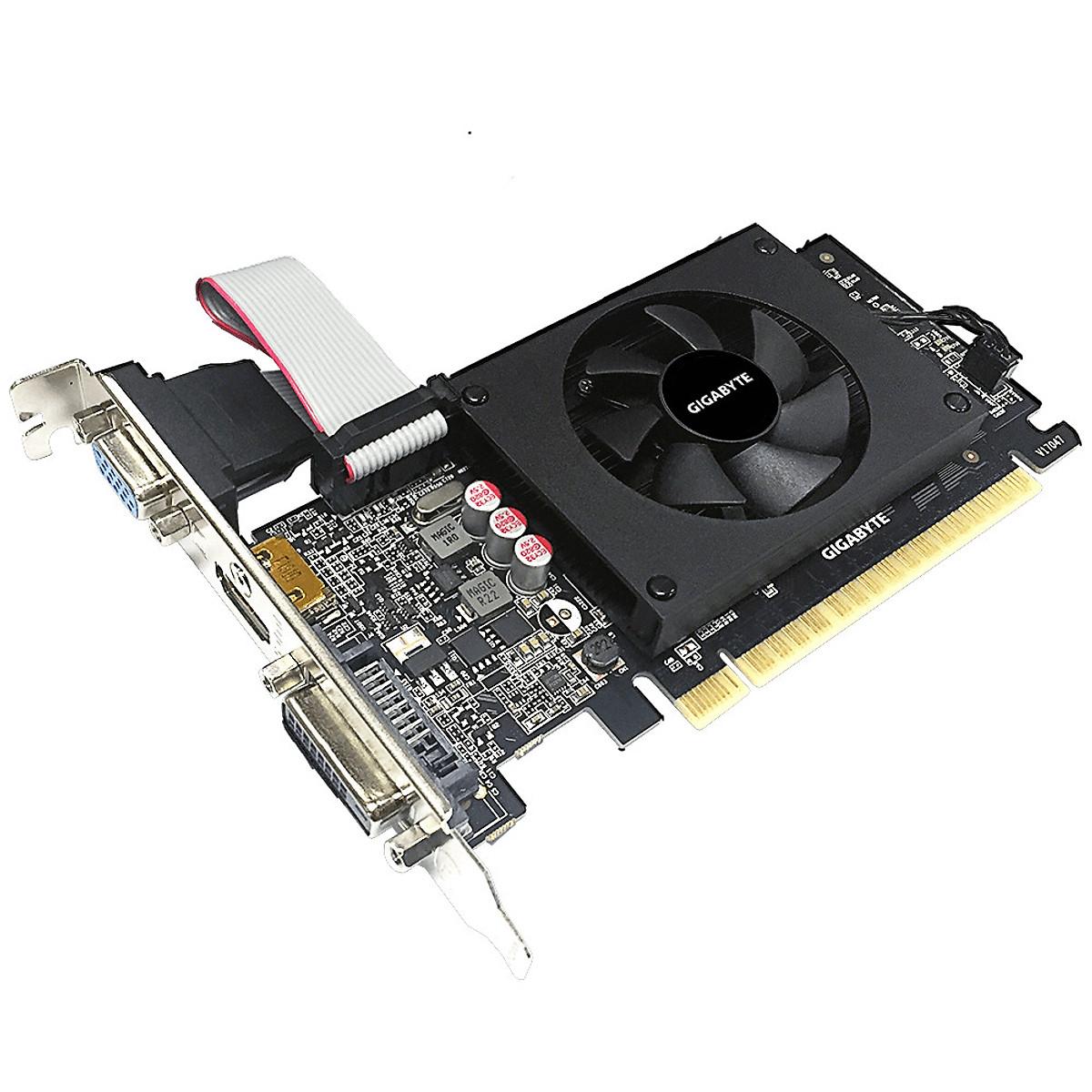 Card màn hình VGA Gigabyte GV-N710D5-2GIL – Hàng chính hãng