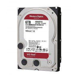 Ổ Cứng HDD NAS WD Red 6TB/256MB/5400/3.5 – WD60EFAX- Hàng chính hãng