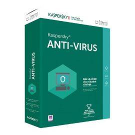 Phần mềm Kaspersky Antivirus cho 1 máy tính/ Năm (Chính Hãng)