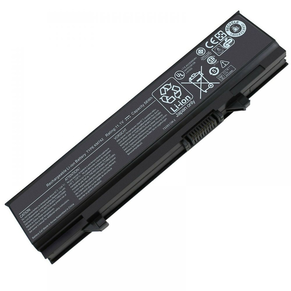 Pin dành cho Laptop Dell Latitude E540