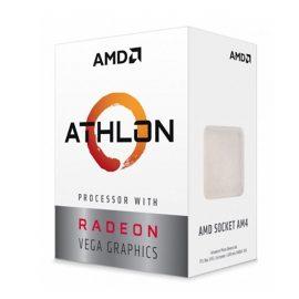 Bộ Vi Xử Lý CPU AMD Athlon 200GE Processor With Radeon Vega 3 Graphics – Hàng Chính Hãng