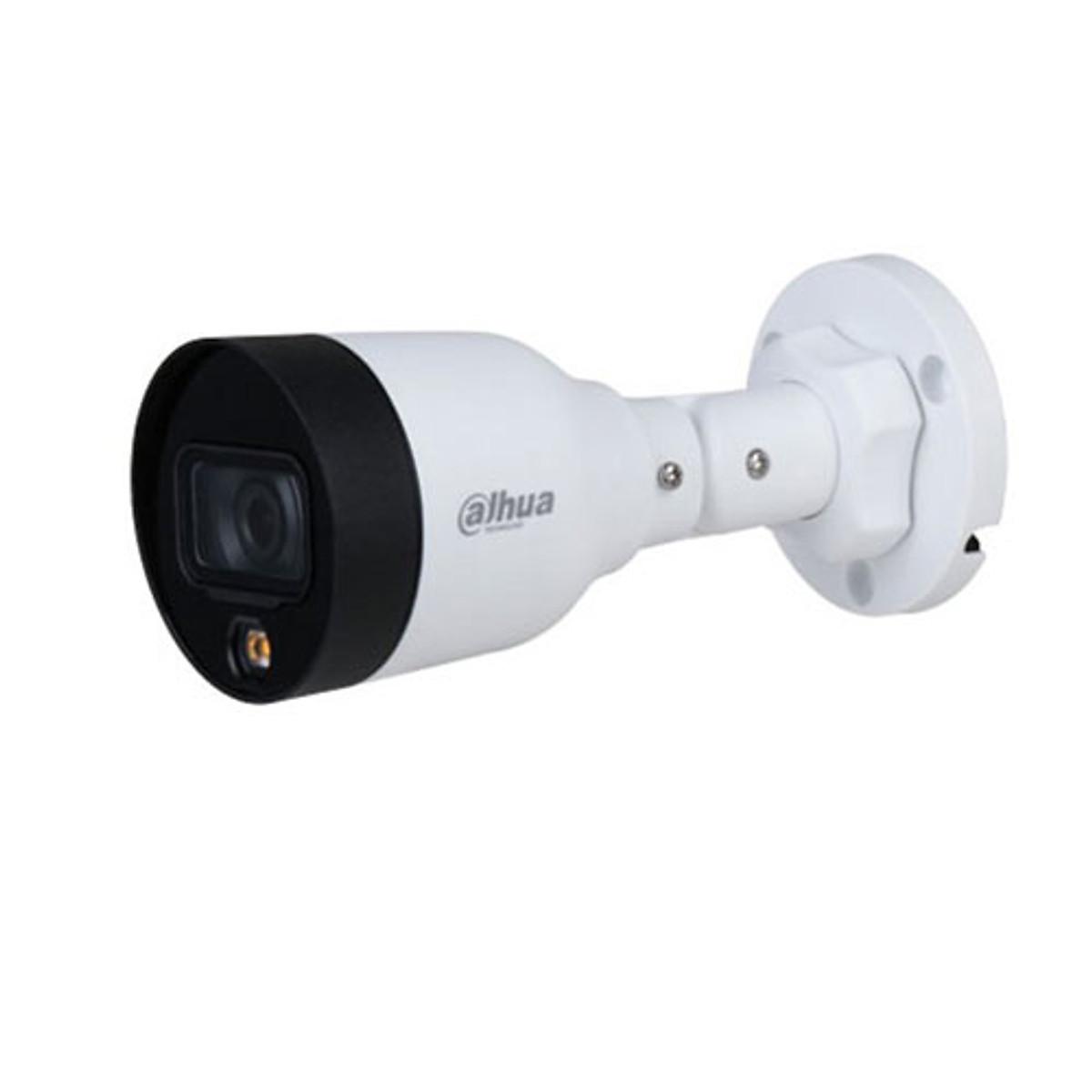 Camera IP Thân 2MP Full-color 24/7  DAHUA DH-IPC-HFW1239S1P-LED-S4 – Hàng Chính Hãng