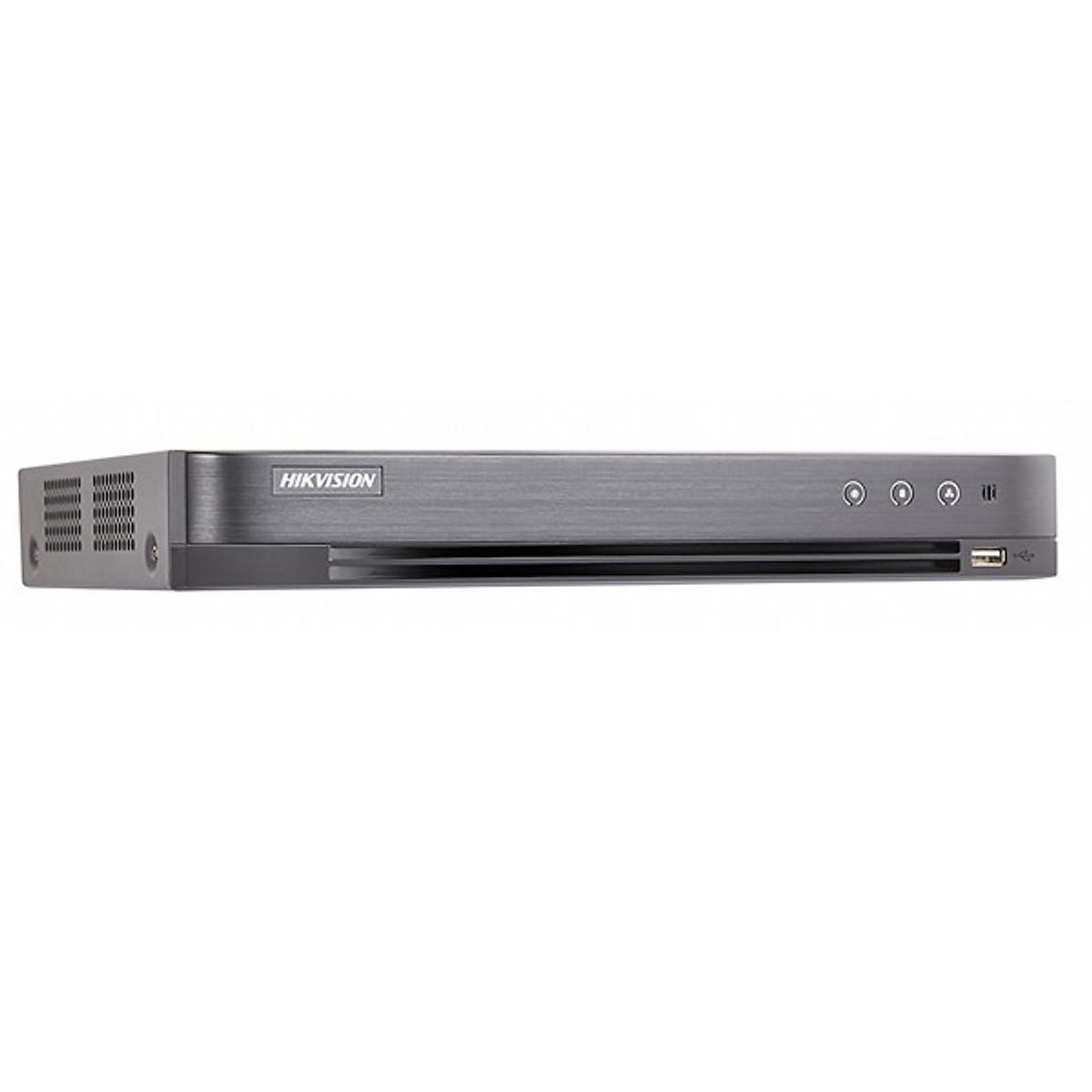 Đầu Ghi Hình HD 4MP 4 Kênh Chuẩn H.265 Pro+ HIKVISION DS-7204HQHI-K1 – Hàng chính hãng