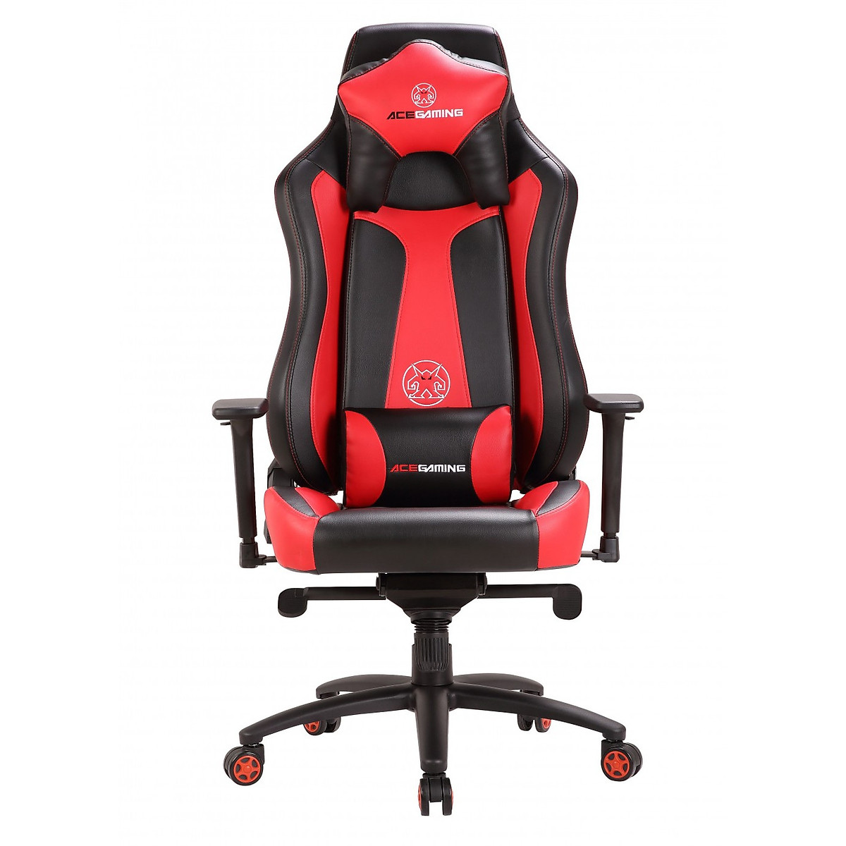 Ghế Ace Gaming Chair – Marshal Series – Model: KW-G100 – Color: Black/Red – Hàng chính hãng