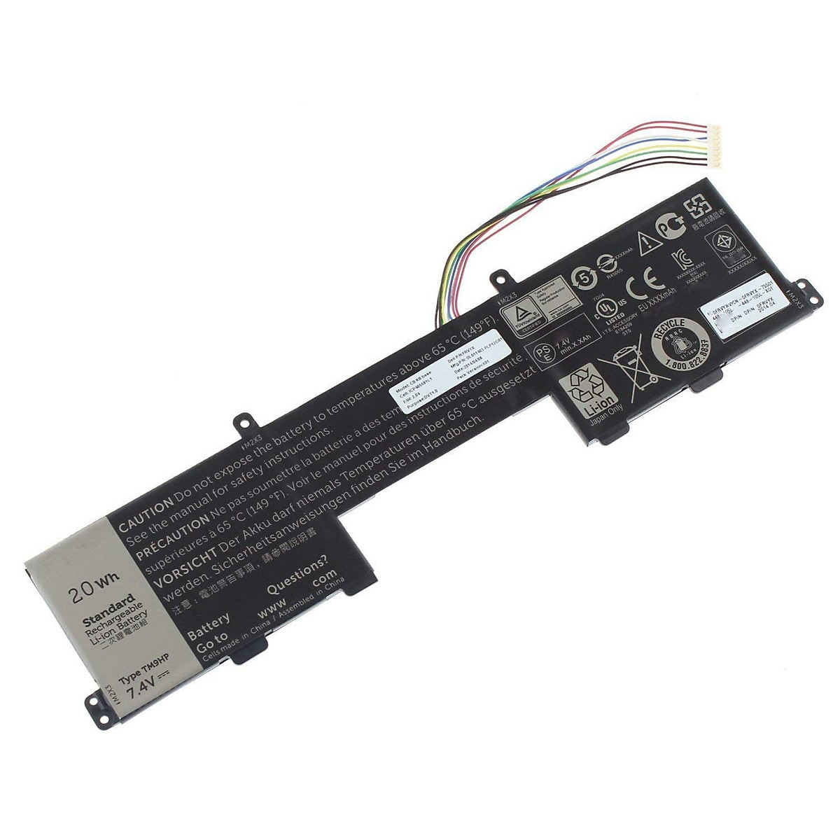 PIN dành cho LAPTOP DELL LATITUDE 13-7350- 271J9 – Pin của màn hình
