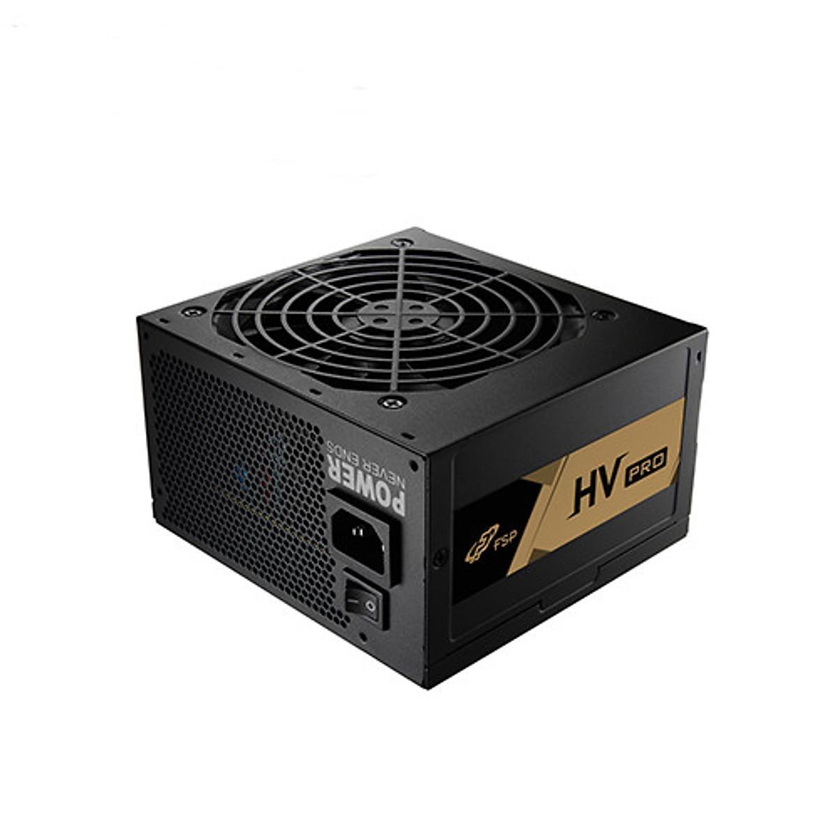 Nguồn máy tính FSP HV PRO 550W 80 plus Chính Hãng