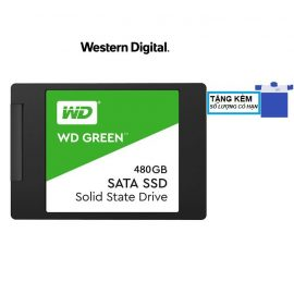 [Mã ELWDSD giảm 8% tối đa 300K] Ổ cứng SSD WD Green 480GB SATA III 2.5 inch (WDS480G2G0A)