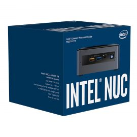 Máy tính văn phòng mini Intel NUC7CJYH – Chưa bao gồm RAM & SSD – Hàng Chính Hãng