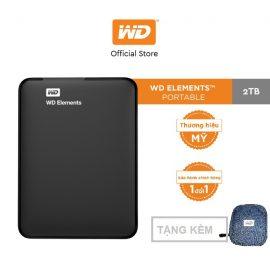 [Mã ELWDSD giảm 8% tối đa 300K] Ổ cứng WD Elements 2TB-2.5 INCH