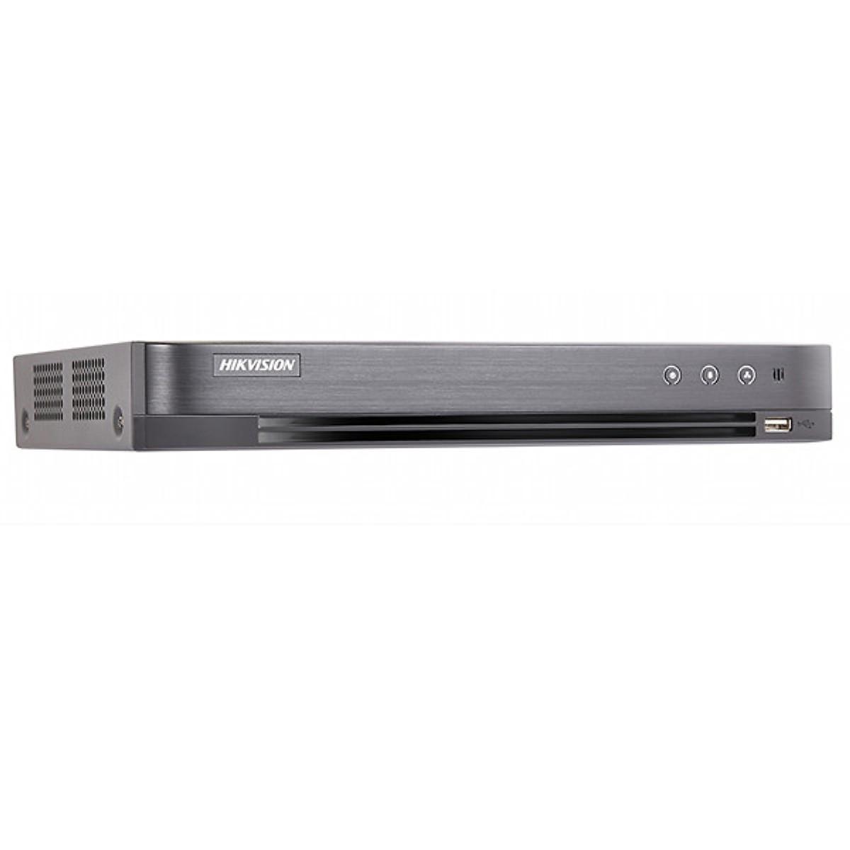 Đầu Ghi Hình HD 3MP 4 Kênh Chuẩn H.265 Pro+ HIKVISION DS-7204HQHI-K1/P – Hàng Chính Hãng