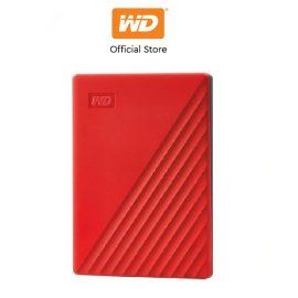 [Mã ELWDSD giảm 8% tối đa 300K] Ổ cứng WD My Passport 2.5 INCH( USB 3.2) 4TB Portable( Đỏ)
