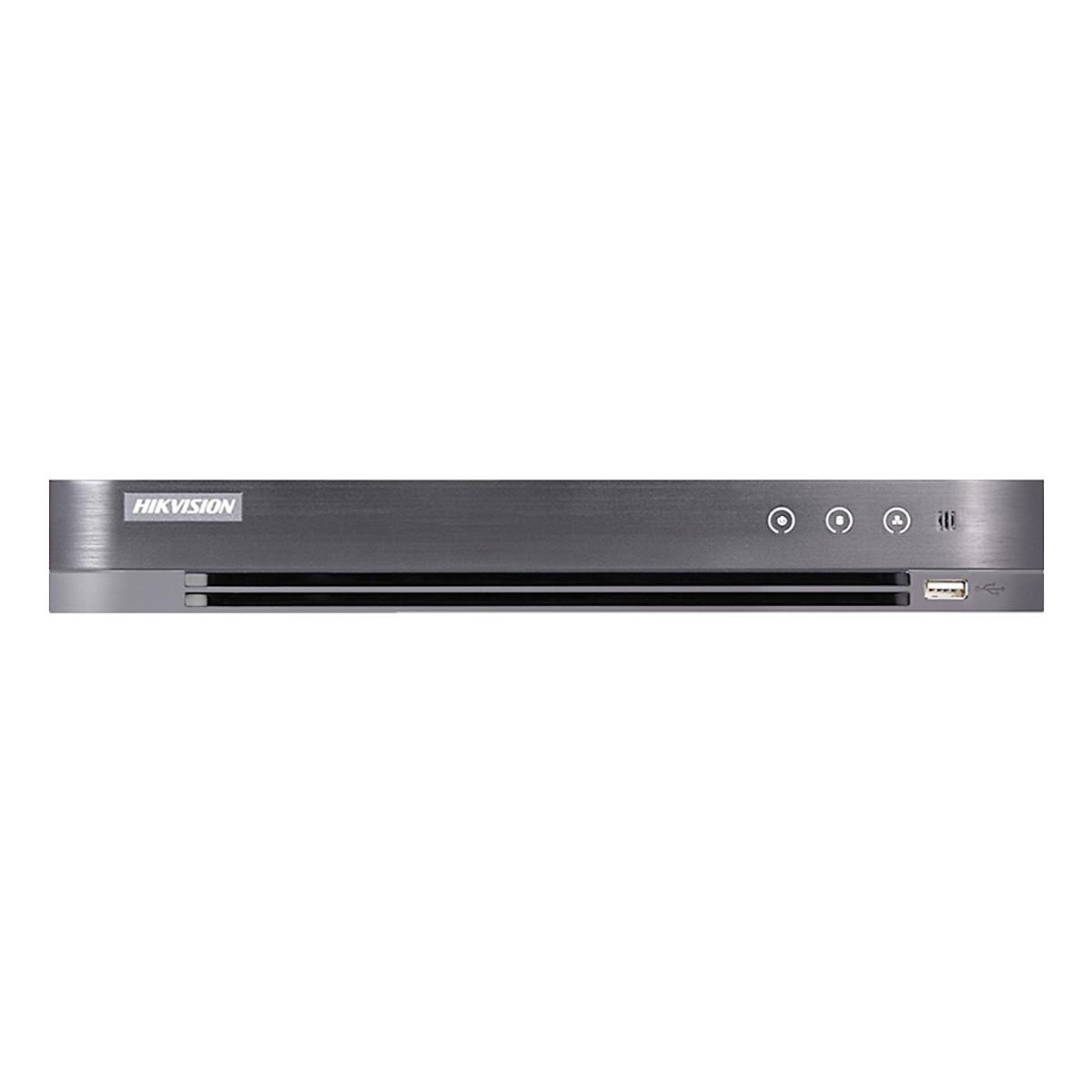 Đầu ghi hình 8 kênh + hỗ trợ POC Hikvision HD-TVI 2MP/3MP H265 DS-7208HQHI-K2/P – Hàng Nhập Khẩu