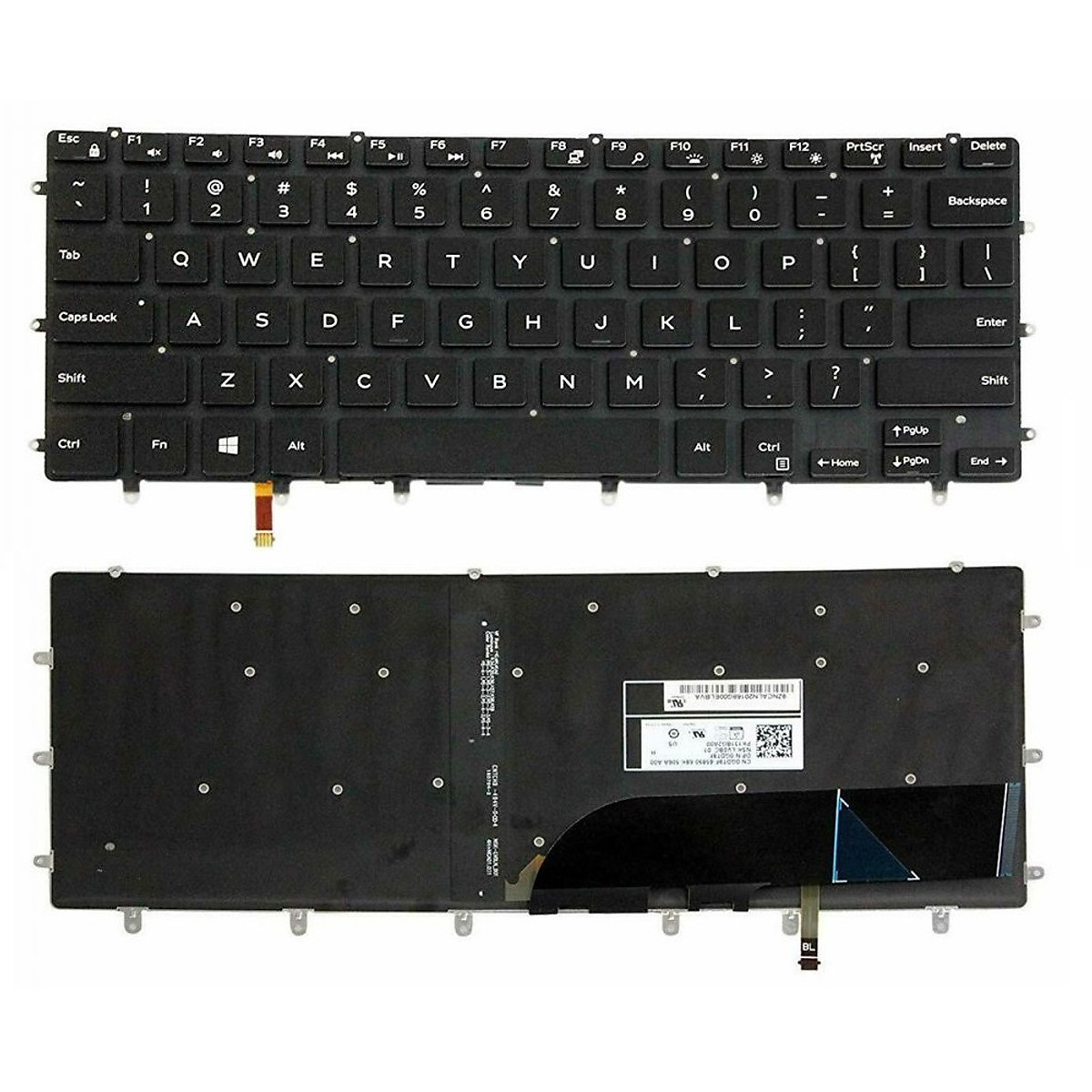 Bàn phím dành cho Laptop Dell Inspiron 7558 có đèn nền