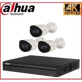 Trọn gói Camera Cao cấp 4K 02 – 3 camera Dahua (8MP)