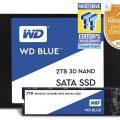 Ổ Cứng SSD WD Blue 3D NAND 500GB M.2 2280 WDS500G2B0B – Hàng Chính Hãng