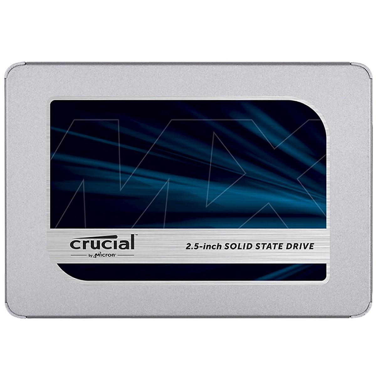 Ổ Cứng SSD Crucial MX500 Series SATA 3 – Hàng Chính Hãng