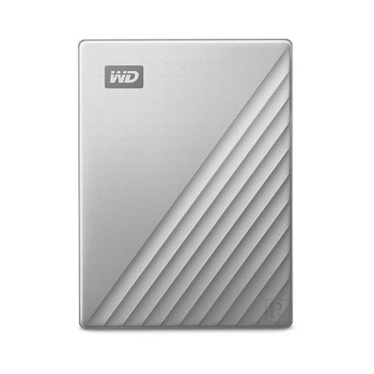 Ổ Cứng Di Động WD My Passport Ultra 2TB USB Type C – Model 2019 – Hàng Nhập Khẩu