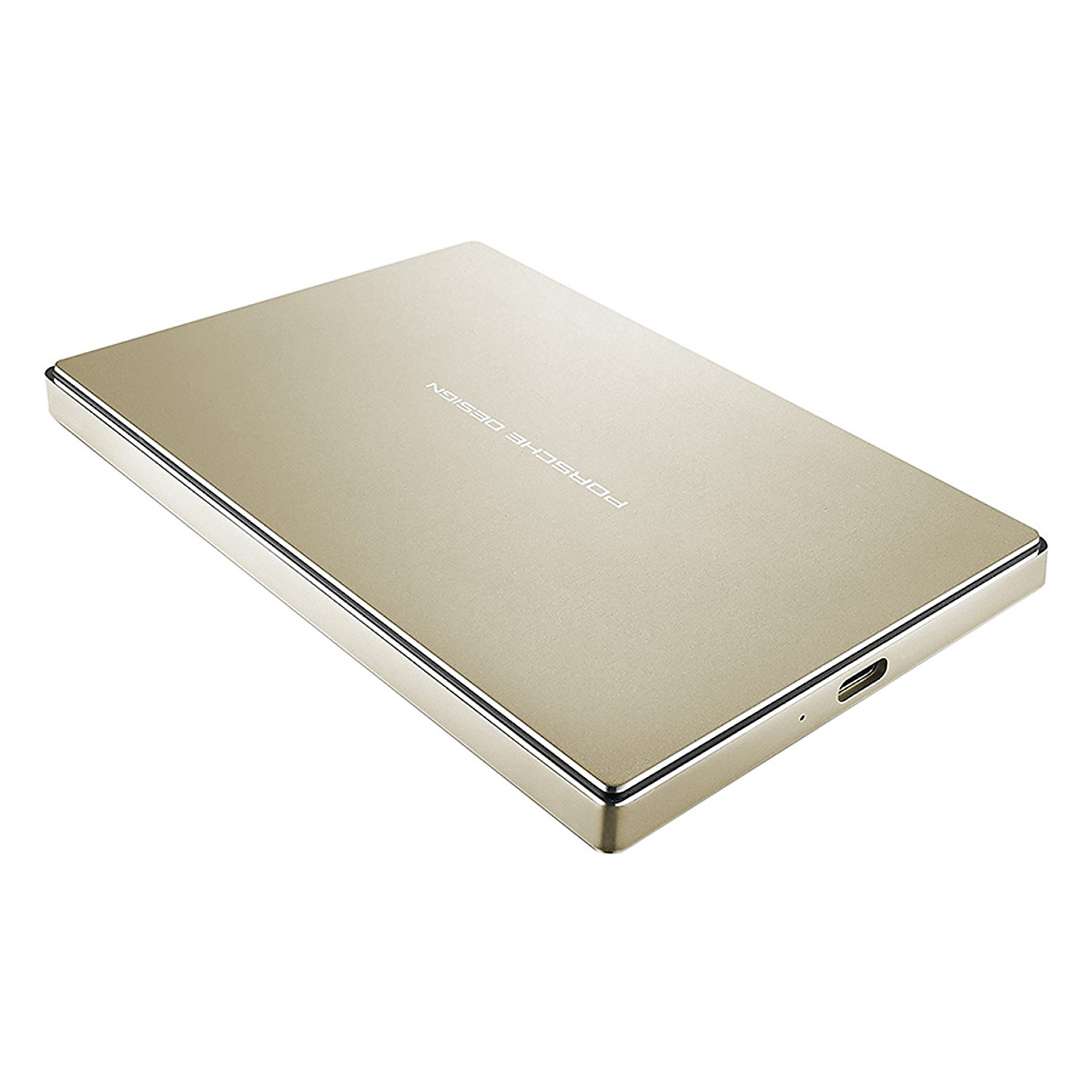 Ổ Cứng LaCie Porsche Design 2.5 P'9227 USB 3.1 2TB STFD2000403 (Vàng) – Hàng Chính Hãng