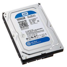 Ổ Cứng HDD WD Blue™ 500GB/32MB/7200rpm/3.5 – WD5000AZLX – Hàng chính hãng