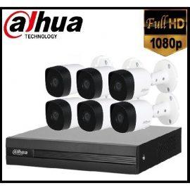 Trọn gói Camera Gia đình 02 – 6 camera Dahua (2MP)