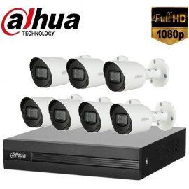 Trọn gói Camera Văn phòng 01 – 7 camera Dahua (2MP)