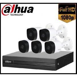Trọn gói Camera Gia đình 02 – 5 camera Dahua (2MP)