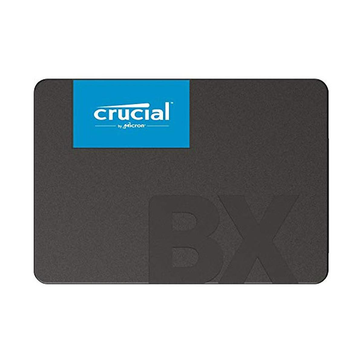 Ổ cứng SSD Crucial BX500 3D NAND SATA III 2.5 inch 960GB CT960BX500SSD1 – Hàng Chính Hãng