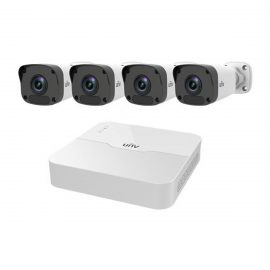 Bộ Kit 4 kênh Camera IP PoE UNV KIT/301-04LB-P4/4*2122LR3- PF40-E